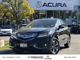 Used 2016 Acura RDX Elite at AWD, Navi, Power Liftgate for sale in Markham, ON
