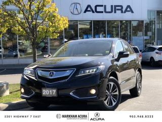 Used 2017 Acura RDX Elite at AWD, Navi, Backup Cam for sale in Markham, ON