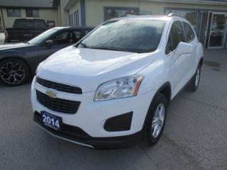 Used 2014 Chevrolet Trax ALL-WHEEL DRIVE 2-LT EDITION 5 PASSENGER 1.4L - ECO-TEC.. LEATHER TRIM.. BACK-UP CAMERA.. BLUETOOTH SYSTEM.. BOSE AUDIO.. for sale in Bradford, ON