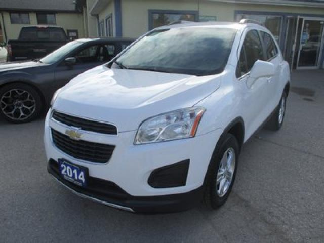 2014 Chevrolet Trax ALL-WHEEL DRIVE 2-LT EDITION 5 PASSENGER 1.4L - ECO-TEC.. LEATHER TRIM.. BACK-UP CAMERA.. BLUETOOTH SYSTEM.. BOSE AUDIO..