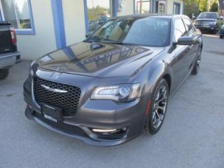 Used 2017 Chrysler 300 LOADED 'S-TYPE' EDITION 5 PASSENGER 3.6L - V6.. NAVIGATION.. LEATHER.. HEATED SEATS.. PANORAMIC SUNROOF.. BACK-UP CAMERA.. BLUETOOTH.. for sale in Bradford, ON