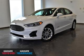 Used 2019 Ford Fusion Hybrid SEL HYBRIDE GPS + TOIT + ALLIAGE+++ for sale in St-Jean-Sur-Richelieu, QC