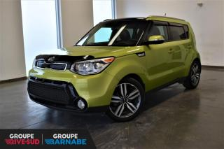 Used 2015 Kia Soul SX Luxe Toit+Cuir+GPS+Camera+++ for sale in St-Jean-Sur-Richelieu, QC