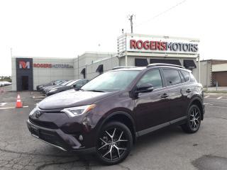 Used 2018 Toyota RAV4 SE 4WD - NAVI - SUNROOF - LEATHER - CAMERA for sale in Oakville, ON