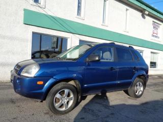 Used 2007 Hyundai Tucson Traction avant 4 portes, 4 cyl. en ligne for sale in St-Jérôme, QC