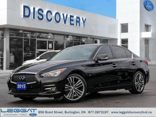 Used 2015 Infiniti Q50 for sale in Burlington, ON
