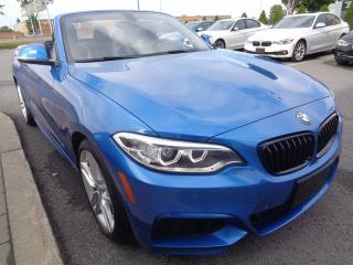Used 2015 BMW 228i xDrive!! CONVERTIBLE! for sale in Dorval, QC