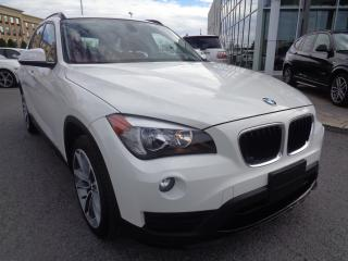 Used 2015 BMW X1 xDrive28i WHITE ON RED WITH NAVIGATION! for sale in Dorval, QC