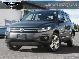 Used 2016 Volkswagen Tiguan Comfortline 2.0T 6sp at w/Tip 4M for sale in Ottawa, ON