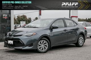 Used 2019 Toyota Corolla 4-door Sedan LE CVTi-S for sale in Orangeville, ON