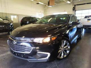 Used 2017 Chevrolet Malibu PREMIER/DEMARREUR/CUIR/NAV/BOSE/SIEGES CHAUFFANT for sale in Blainville, QC