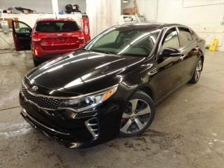 Used 2016 Kia Optima SX Turbo * CUIR * TOIT * NAV * for sale in Ste-Julie, QC