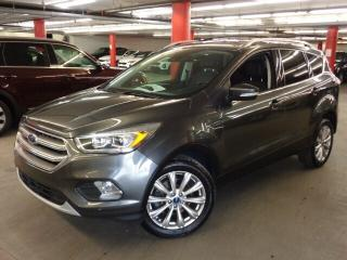 Used 2017 Ford Escape Titanium * TOIT * CUIR * DÉMAREUR * for sale in Ste-Julie, QC