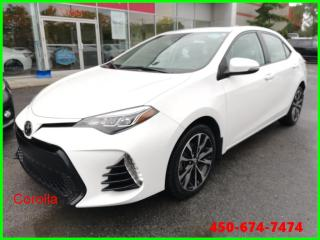 Used 2017 Toyota Corolla XSE ** AUTOMATIQUE CUIR NAVIGATION TOIT OUVRANT ** for sale in Longueuil, QC