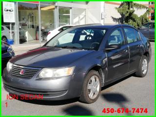 Used 2006 Saturn Ion ** AUTOMATIQUE CAROSSERIE POLYMÈRE ** for sale in Longueuil, QC