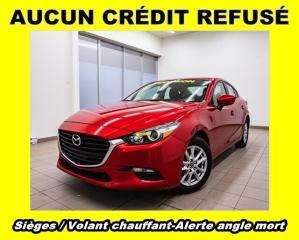 Used 2018 Mazda MAZDA3 GS ANGLES MORTS SIÈGES / VOLANT CHAUFFANT *BAS KM* for sale in Mirabel, QC