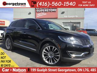 Used 2016 Lincoln MKX RESERVE| NAVI| PANO ROOF| AWD| 41, 216KMS for sale in Georgetown, ON