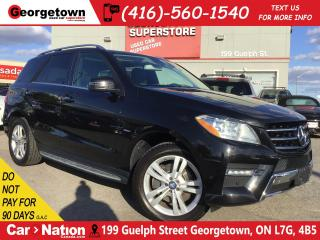 Used 2012 Mercedes-Benz ML-Class ML 350 BlueTEC   NAVI   ROOF   BU CAM   HTD SEATS for sale in Georgetown, ON