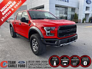 Used 2018 Ford F-150 Raptor Ford F-150 Raptor S/Crew, Toit panoramiq for sale in Gatineau, QC