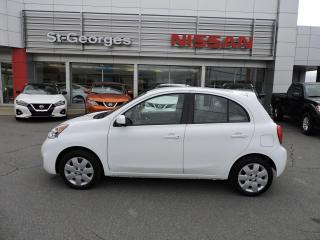 Used 2017 Nissan Micra SV (Auto, Bluetooth, Cruise) for sale in St-Georges, QC