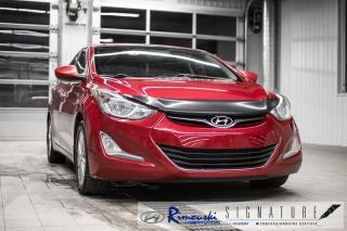 Used 2016 Hyundai Elantra SE chez Rimouski hyundai for sale in Rimouski, QC