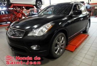 Used 2012 Infiniti EX35 AWD Cuir Toit Bluetooth Mags for sale in St-Jean-Sur-Richelieu, QC