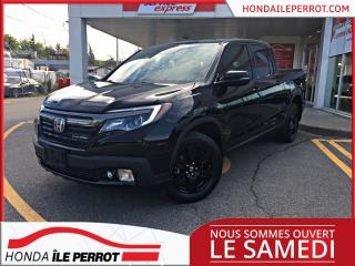 Used 2017 Honda Ridgeline BLACK EDITION **FULL EQUIPÉE*** for sale in Île-Perrot, QC