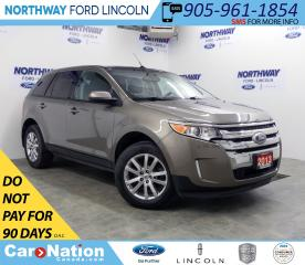 Used 2013 Ford Edge SEL | AWD | NAV | PWR HTD LEATHER | PANOROOF | for sale in Brantford, ON
