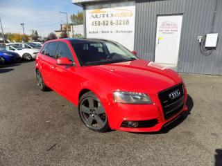 Used 2011 Audi A3 ***PREMIUM,S-LINE,AWD,CUIR,TOIT,AUTOMATI for sale in Longueuil, QC
