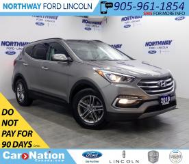 Used 2018 Hyundai Santa Fe Sport SE | AWD | PWR HTD LEATHER | PANOROOF | for sale in Brantford, ON