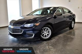 Used 2016 Chevrolet Malibu LS MAGS || CAMERA DE RECUL || BLUETOOTH || UN PROPRIO JAMAIS ACCIDENTÉ for sale in Brossard, QC