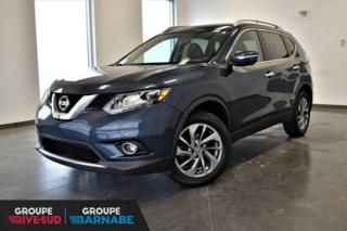 Used 2015 Nissan Rogue SL AWD || CUIR || TOIT PANO || NAVI || MAGS SL AWD || CUIR || TOIT PANO || NAVI || MAGS for sale in Brossard, QC