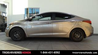 Used 2016 Hyundai Elantra GL for sale in Trois-Rivières, QC