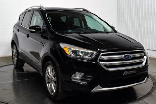 Used 2017 Ford Escape TITANIUM AWD CUIR TOIT PANO MAGS NAV for sale in St-Hubert, QC