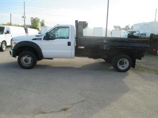 Used 2016 Ford F-550 XL,REGULAR CAB.DUMP BODY for sale in London, ON