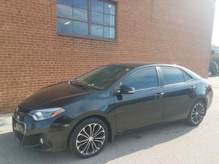 Used 2014 Toyota Corolla S-NAVI BACKUP CAM-LEATER-SUN ROOF-ONE OWNER for sale in Oakville, ON