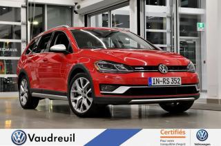 Used 2018 Volkswagen Golf Sportwagen Alltrack * ENS. ECLAIRAGE * FENDER for sale in Vaudreuil-Dorion, QC