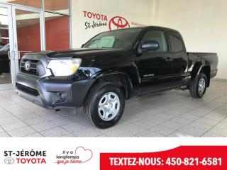 Used 2014 Toyota Tacoma * 4X2 * 4CYL 2.7L * GR ELECT * for sale in Mirabel, QC