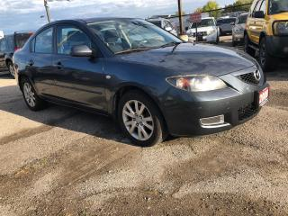 Used 2008 Mazda MAZDA3 GS, ONE OWNER, LOW KMS, 3 YR WARRANTY, CERTIFIED for sale in Woodbridge, ON