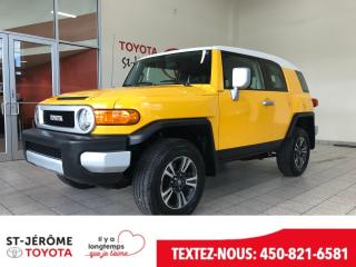 Used 2010 Toyota FJ Cruiser * 4X4 * MANUEL * 37 000 KMS * A/C * for sale in Mirabel, QC