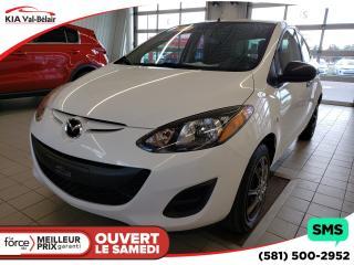 Used 2013 Mazda MAZDA2 *GX*LECTEUR CD, PRISE AUX for sale in Québec, QC