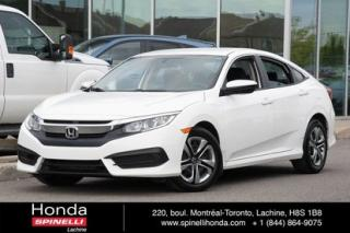 Used 2016 Honda Civic LX AUTO CRUISE BLUETOOTH AUTO CRUISE BLUETOOTH for sale in Lachine, QC
