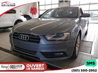 Used 2014 Audi A4 *2.0 KOMFORT*SIÈGES CHAUFF*CUIR*AIR*AWD* for sale in Québec, QC