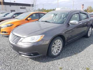 Used 2014 Chrysler 200 Limited PNEUS D'ÉTÉS SUR MAGS + PNEUS D'HIVERS SUR ROUES for sale in Val-D'or, QC