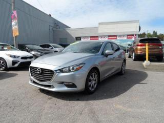 Used 2017 Mazda MAZDA3 Berline 4 portes, boîte manuelle, GX for sale in Val-David, QC
