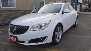 Used 2016 Buick Regal T-LEATHER-HEATED SEATS-REVERSE CAMERA-BLUETOOTH for sale in Tilbury, ON