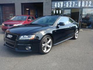 Used 2010 Audi A5 S-LINE - ENTRETIEN DEALER A JOUR for sale in Beloeil, QC