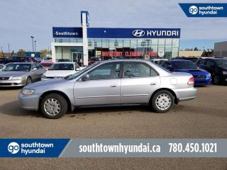 Used 2002 Honda Accord Sdn LX/CRUISE CONTROL/AC/POWER OPTIONS for sale in Edmonton, AB