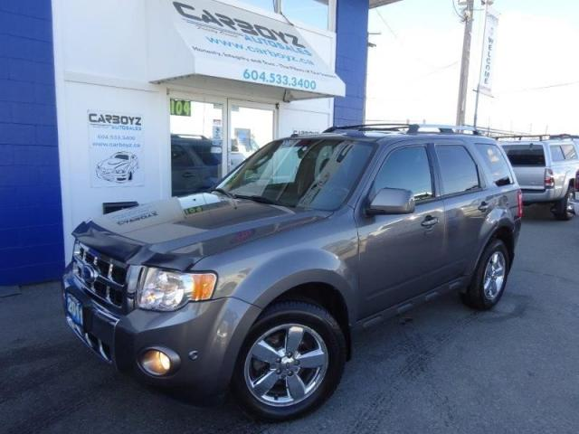 2011 Ford Escape Limited 4WD V6, Sunroof  Leather Camera, One Owner