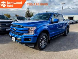 Used 2019 Ford F-150 LARIAT 502A, 4x4 Supercrew, 3.5L Ecoboost, Auto Start/Stop, Heated Seats, Heated Steering Wheel, Pre-Collision Assist, Remote Keyless Entry/Keypad, Reverse Camera System, Navigation for sale in Edmonton, AB